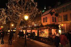 Le Marché de Noël de Colmar, Alsace, France