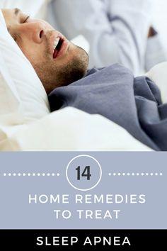 home remedies to get rid of sleep apnea