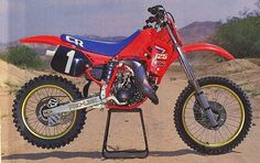 Micky Dymond 125 CR Factory Honda 1987