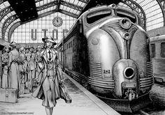 Arrival in Utopia by Lipatov.deviantart.com on @deviantART