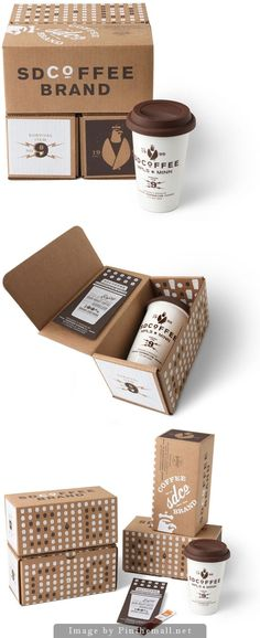 coffee packaging | DESIGN | re-pinned by http://www.cupkes.com/