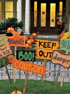 Outdoor Halloween On Pinterest Outdoor Halloween