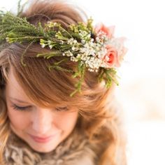 "Ethereal and woodsy wedding ideas inspired by the movie ""Brave""..."