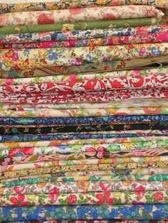 Liberty of London Tana Lawn makes the *best* baby quilts. by lidia