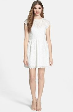 Dress up #idea: Dolce Vita Embroidered Organza Fit #fashion #style #newyears