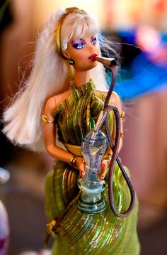 Barbie getting baked! ;) epic pic!