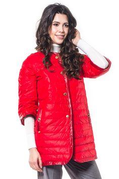 Пальто женское Savage арт. 615011 цвет tomato купить в Минске в интернет-магазине - afashion.by