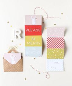 Más que 30 descargables para la Navidad - ¡gratis! via BodaBella.es