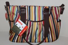 Skip Hop Uptown Stripe Stroller Ready Diaper Tote. Read more at http://www.zone355.com/skip-hop-uptown-stripe-stroller-ready-diaper-tote/