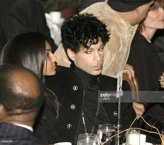 Prince and wife Manuela Testolini during 2nd Annual AEC Grammy Sunday Brunch at The Regent Beverly Wilshire Hotel in Beverly Hills, California, United States.