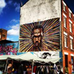 Brick Lane Market en Spitalfields and Banglatown, Greater London