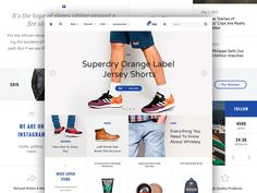 Another wonderful ecommerce sample layout that comes with Aware Ecommerce UI Kit