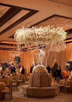mismatched wedding reception seating