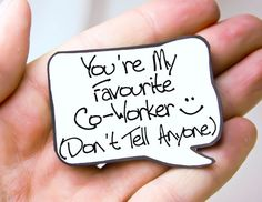 Co Worker Gift Funny Co worker Gift Magnet by katndrewcards, $1.50