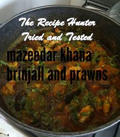 Brinjal Prawn Curry is a delicious Indian recipe served as a Side Dish