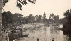 Vista panorâmica do rio Pinheiros nos anos 20