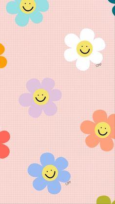 Simple Iphone Wallpaper, Teal Wallpaper, Flowery Wallpaper, Hippie Wallpaper, Cute Pastel Wallpaper, Cute Patterns Wallpaper, Iphone Background Wallpaper, Aesthetic Iphone Wallpaper, Cute Wallpaper Backgrounds