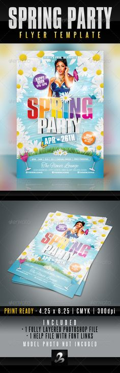 Social Media Marketing Flyer #GraphicRiver FILES INFORMATION 6PSD - azure flyer template