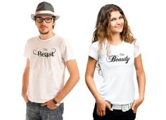 Beauty and The Beast his and hers tshirt set