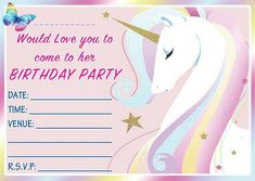 FREE Birthday Party Invites For Kids Bagvania Printable Invitation Template