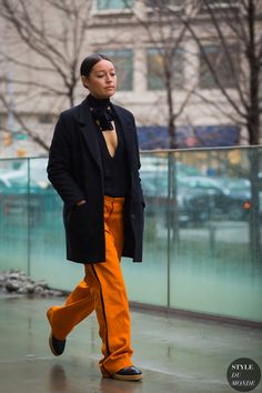 New York Fashion Week FW 2016 Street Style: Rachael Wang