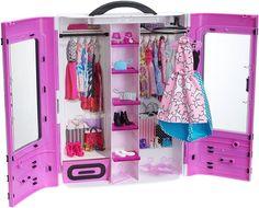 Barbie Fashionistas Ultimate Closet Purple Gift Classic Toys Girl Dolls New #Barbie #DollswithClothingAccessories