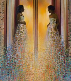Ave evA, painting by Ton Dubbeldam.