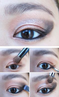 Go bold or go home. This bold eye is deceptively easy, but amazingly dramatic.