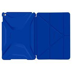 roocase Apple iPad Air 2 Origami 3D Case - Blue (RC-APL-AIR2-OG-SS-PA/AB), Aruba Blue
