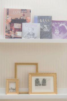 Lovely Books & Photo Frames;)
