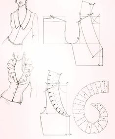 Sewing Techniques 799881583797048021 - Sewing inspiration: collars Source by Sewing Lessons, Sewing Hacks, Sewing Projects, Sewing Tutorials, Techniques Couture, Sewing Techniques, Dress Sewing Patterns, Clothing Patterns, Fanni Stitch