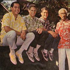 """cd25bcbe FREE SHIPPING – EVERY ORDER, EVERY DAY! Kahala Hawaiian Shirt """"Duke's Pareo  """""""