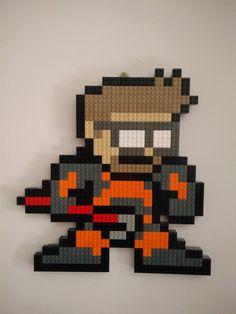 Dr. Gordon Freeman 8-bit LEGO