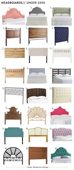 Affordable Headboards Under $500 Roundup Emily Henderson Design