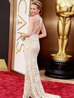 Die Kleider waren bei den Oscars 2014 die schönste Nebensache. Wir zeigen 15 Highlight-Looks und verraten, welcher Star sich für welchen Designer entschied.