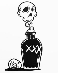 Death-Traps and Dirty Tramps – Tattoo Sketches & Tattoo Drawings Cool Art Drawings, Doodle Drawings, Art Drawings Sketches, Doodle Art, Easy Drawings, Tattoo Drawings, Tattoo Sketches, Graffiti Doodles, Graffiti Art