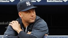 Derek Jeter has boot removed from ankle, plays catch My Yankees, New York Yankees, Oh Captain My Captain, Sports Medicine, Derek Jeter, My Boys, Mlb, Baseball Hats, How To Remove