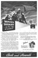 Bell & Howell Filmosound Library Movie 1943 Ad Picture