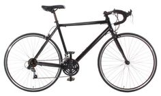 Product review for Aluminum Road Bike Commuter Bike Shimano 21 Speed 700c - This economical road bike is built on a lightweight 6061 Aluminum frame. It features Shimano A050 thumb shifters for convenience. It has mount points on the frame for a rear rack, this bike is an excellent commuter. Full Specs:  Frame: 6061 Aluminum, Water bottle and Rear Rack mount pointsFork:...