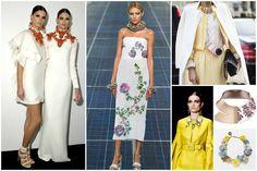 El ABC de las tendencias de primavera de joyas: Bib-necklaces