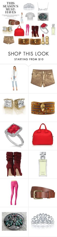 """""""Christmas Break 7"""" by chrisone ❤ liked on Polyvore featuring Elliatt, Zadig & Voltaire, Chan Luu, Allurez, Givenchy, Calvin Klein, Betsey Johnson, Will Leather Goods, Bling Jewelry and H&M"""