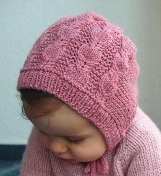 Silverfox béguin torsades pour bébé et enfant - explications tricot - Tutoriels de tricot chez Makerist