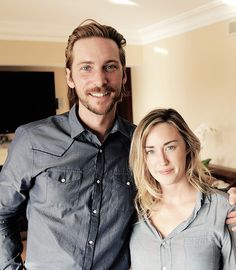 The Last Of Us Fans Troy Baker (Joel) & Ashley Johnson (Ellie)