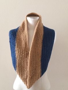 Bear Lake Crochet Cowl by AllThingsUniqueShop on Etsy