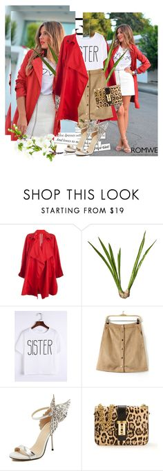 """Romwe 9/1"" by dinna-mehic ❤ liked on Polyvore featuring Taylor, OKA, Valentino and romwe"