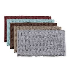 product image for VCNY Barron Cotton Chenille Bath Rug