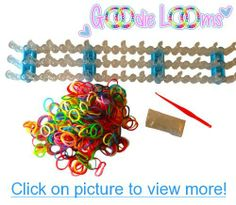 GOODIE LOOMS- Colorful Rainbow Loom Band Kit- 80% OFF!! -The Only Kit on the Market with the Adjustable Loom and Glow In The Dark Bands- Glow in the Dark Bands, $ Tool- Create Patterns As Seen Online $ Youtube- Money Back Guarantee if Not Satisfied #GOODIE #LOOMS_ #Colorful #Rainbow #Loom #Band #Kit_ #80% #OFF!! #_The #Kit #Market #Adjustable #Glow #Dark #Bands_ #Bands # #Tool_ #Create #Patterns #Seen #Online #Youtube_ #Money #Back #Guarantee #Satisfied