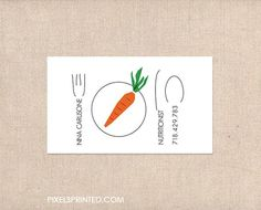 Nutritionist business cards personal chef business cards healthy nutritionist chef business cards on pinterest vegan chef colourmoves