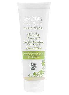 Organic Surge Citrus Mint Shower Gel - Organic Surge