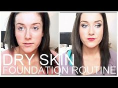 Foundation Routine for Dry/Very Dry Skin! ♡ | rpiercemakeup - YouTube